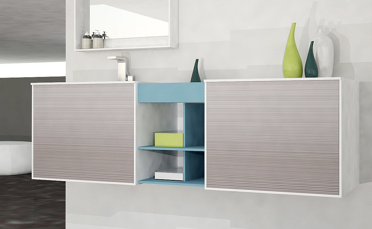 Living noce stocco living noce - Mobili bagno stocco ...